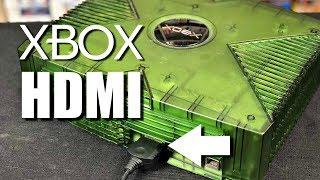 Original XBOX HDMI Cable Review - 100% Plug & Play - No mod needed!