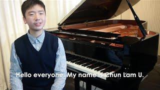 Junior: Chun Lam U, 13, Hong Kong