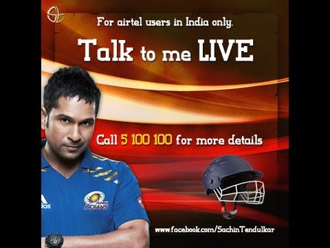 Sachin Tendulkar talking to fans LIVE on 5100100 - Recording (8-Nov-2012)