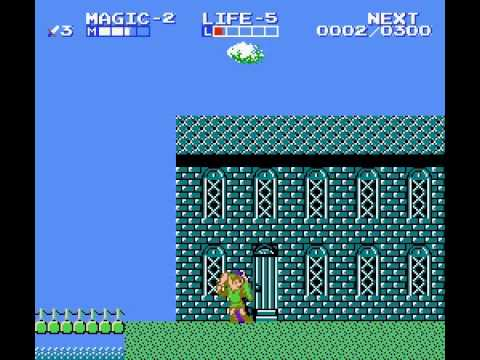 Zelda II - The Adventure of Link - Zelda II The Lost Mirror (Water Town of Saria) - User video