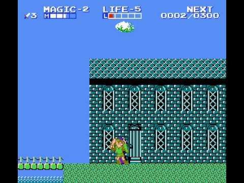 Zelda II - The Adventure of Link - Zelda II The Lost Mirror (Water Town of Saria) - User video