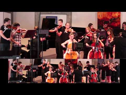 Ennio Moricone - Gabriels's Oboe for 2 violins and string orchestra