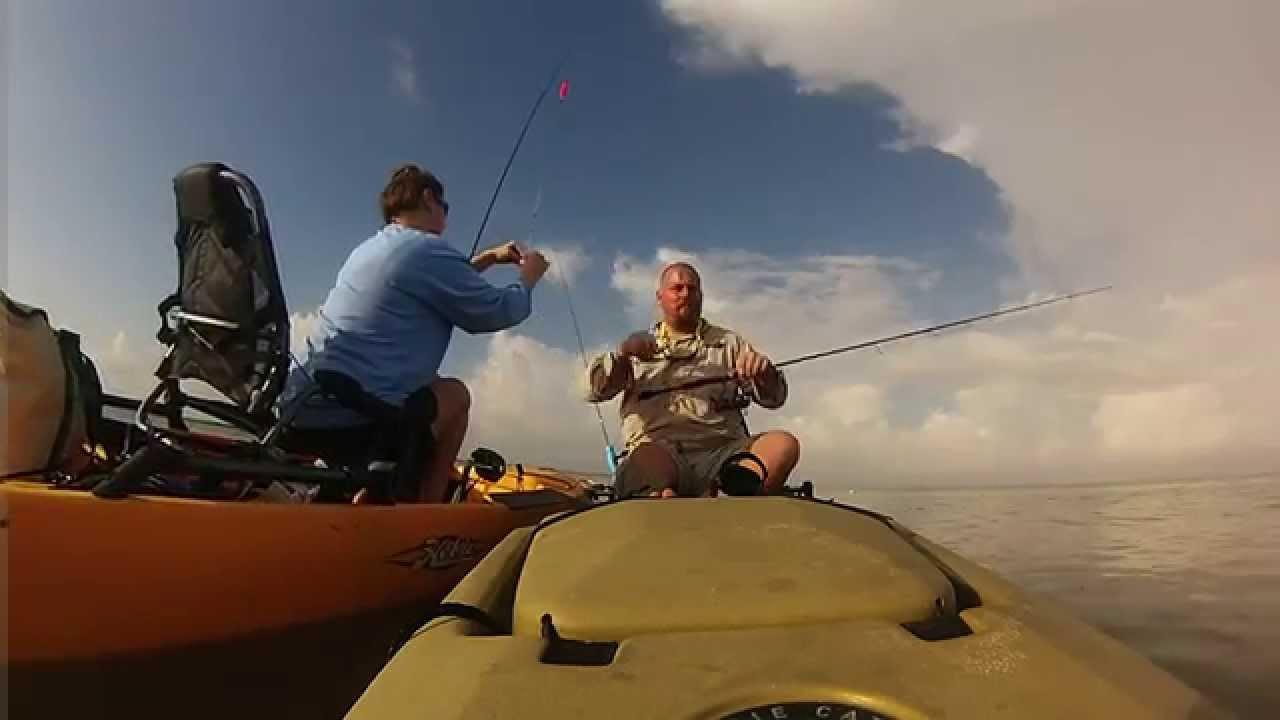 Rockport kayak fishing youtube for Youtube kayak fishing