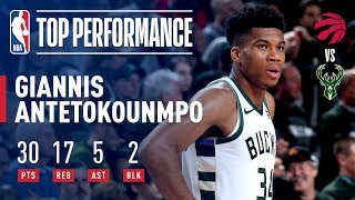 Giannis Joins Kareem in Bucks NBA Playoffs History! | May 17, 2019