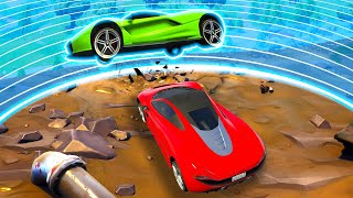 EXTREME Battle Royale Sky Derby! - GTA 5 Funny Moments