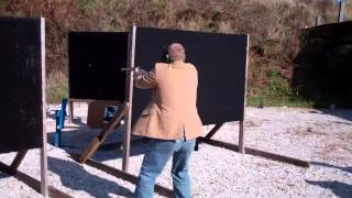 Smith & Wesson 29 44 Mag in action IDPA USPSA FLAMES!!!