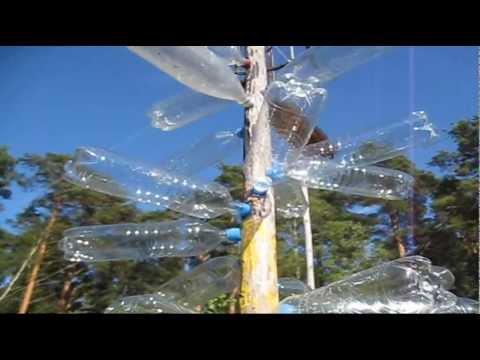 Дерево своими руками из пластиковых бутылок