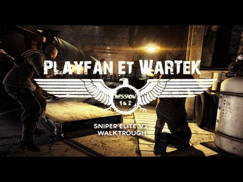 Sniper Elite V2 - Walkthrough Coop avec PlayFan | Mission 1 & 2