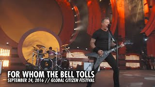 Клип Metallica - For Whom The Bell Tolls (live)