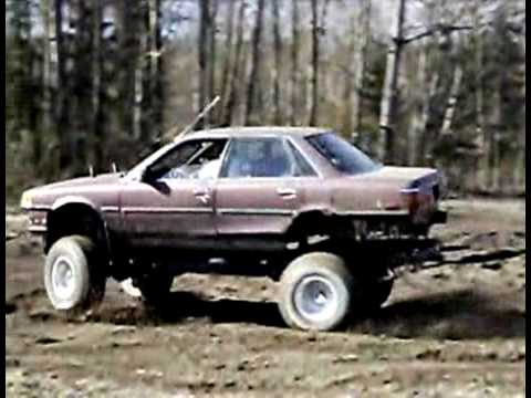 89 Toyota Camry 4x4 Youtube
