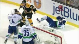 Bruins-Canucks Game 4 Stanley Cup Finals Highlights 6/8/11 1080p HD
