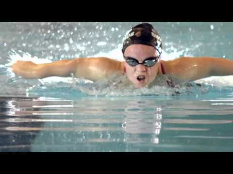 Spend 100 seconds with Ellie Simmonds British Paralympic Gold medallist and her coach (London 2012)