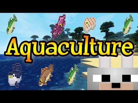 Aquaculture 1.2.5 Minecraft Mod Review and Tutorial ( Client & Server )