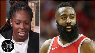 Chelsea Gray on James Harden comparisons: I'm a pass-first point guard | The Jump