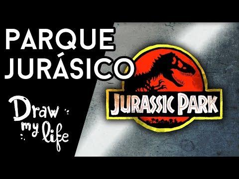 JURASSIC PARK: La mejor historia de DINOSAURIOS - Draw My Life en Español