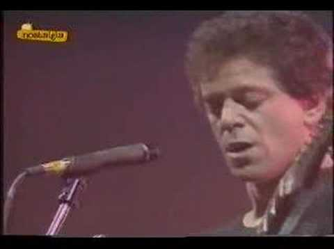 4) Lou Reed - There She Goes Again - Live in Barcelone, 1985