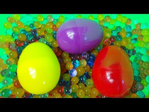 ORBEEZ SURPRISE EGG OPENING 2 Inc., BATMAN, CAPTAIN AMERICA, THOMAS AND MINIONS