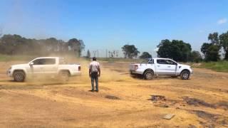 Ford Ranger vs Amarok