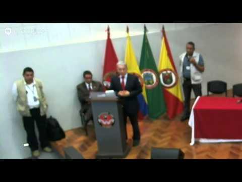 Debate Alvaro Uribe en Unilibre Pereira