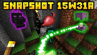 Minecraft Snapshot 15w31a (1.9) - SHULKER, BEETS, DRAGON HEAD & MORE!