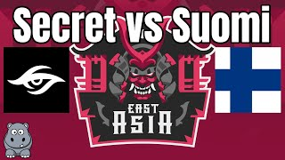 ECL Finals | Secret vs Suomi | East Asia 2v2 | Viper+DauT vs TheMax+Villese