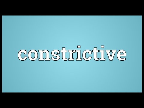 Header of constrictive