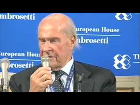 Conferenza stampa Villa d'Este 4.set.09: intervento di Umberto Veronesi