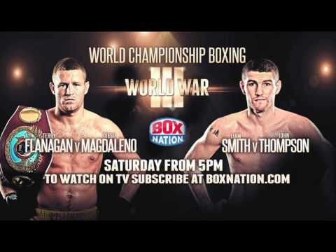 Terry Flanagan And Diego Magdaleno Face Off Ahead Of World Title Fight On Saturday