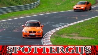 6x BMW M3 GTS + 635 HP G-Power M3 GTS on the Nürburgring! Loud sounds!