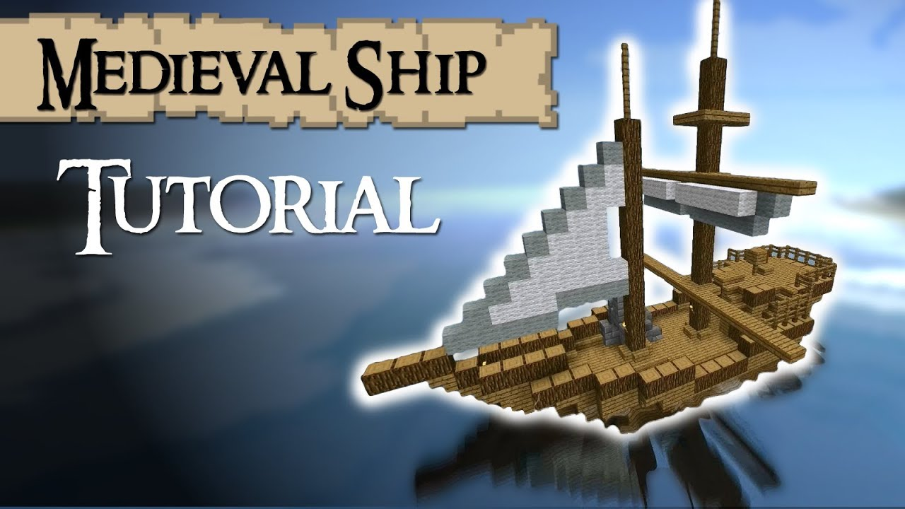 How to build a ship in minecraft archimedes