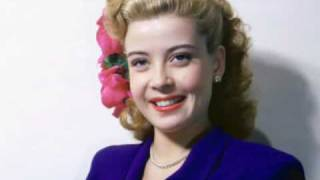 Gloria DeHaven - Who's Sorry Now?