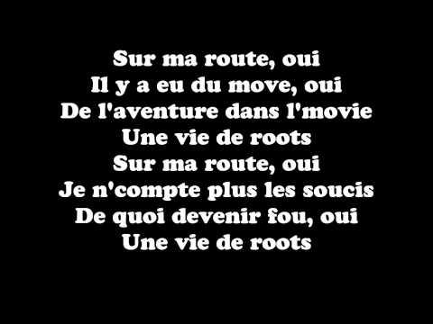 Black M - Sur Ma Route (Paroles- Lyrics)