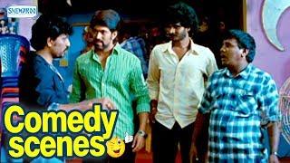Raja Huli Kannada Comedy Scenes - Scene 5 - Yash, Chikanna Kannada Comedy