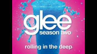 Watch Glee Cast Rolling In The Deep video