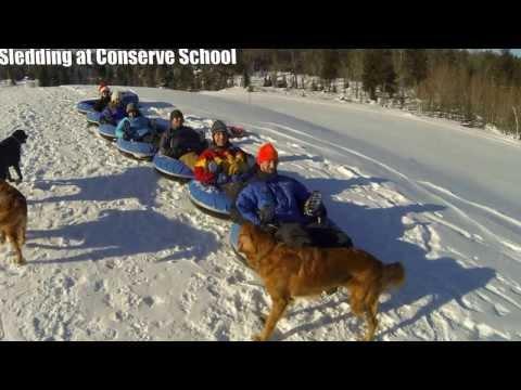 Holiday Sledding at Conserve School 2013 - 12/27/2013