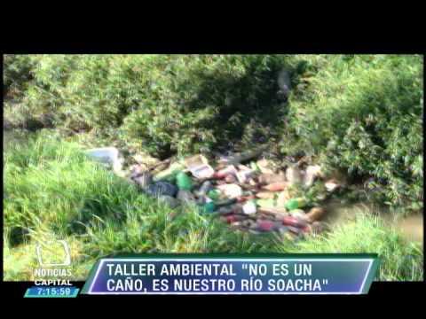 En Bosa se realizan talleres ambientales para el cuidado del Río Soacha.
