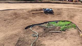 805 RC Test Run with Losi DBXL-E Buggy