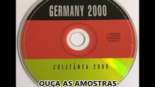CD Germany 2000 - Coletânea 2000 - Planeta Mix - Euro Mix 2000 - Paradise Danceteria