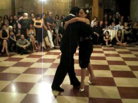 Luis Alberto Rojas y Silvia Tonelli, bailando valz!!