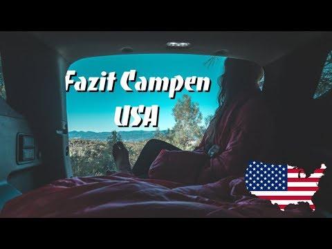 FAZIT USA im Auto campen ∙ LOHNT ES SICH? ∙ USA Roadtrip ∙ Weltreise Vlog #92