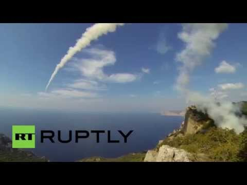 Russia: Watch these anti-ship missiles launch into the Black Sea