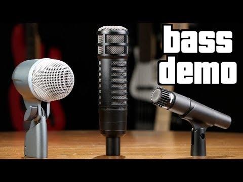 Bass Amp Microphone Shootout