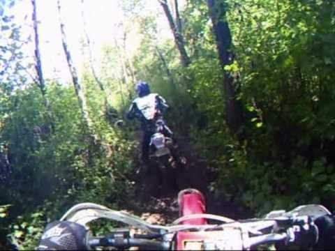 Theilman Enduro Trail Ride, Fall 2010 - Video 2