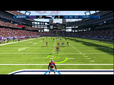 Madden 13-Online Ranked-Patriots Vs Giants-DAMN KIDS!!!