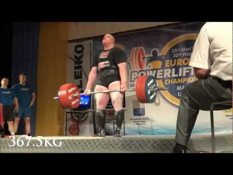 Carl Yngvar Christensen 1135kg / 2502lbs Total +120 (World Record) @ IPF European Championships 2012 Image 1