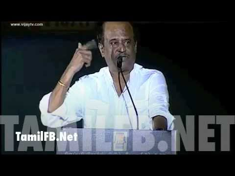 SUPERSTAR RAJINI KANTH SPEECH AT KUMKI AUDIO LAUNCH