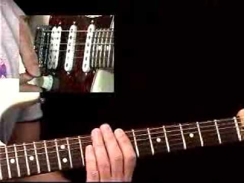 Rhythm Guitar Lessons - Rock Pattern #1 - Rhythmology