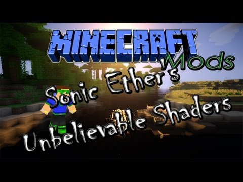 ★ PT 1.5.2 Minecraft Mods - Sonic Ether's Unbelievable Shaders. ft RevTut! Tutorial + Instalação ➚