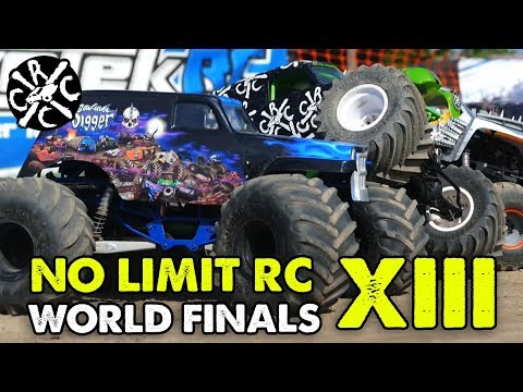 No Limit R/C World Finals XIII - Racing. Mudding. & Pulling RC Monster Trucks