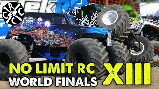 No Limit R/C World Finals XIII - Racing, Mudding, & Pulling RC Monster Trucks